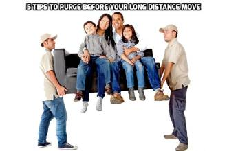 5 Tips to Purge Before Your Long Distance Move